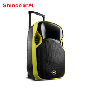 2017 New Product Projector Trolley Speaker with Bluetooth pictures & photos