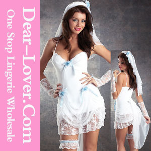 Women Sexy Wedding Corset Dress Costumes pictures & photos