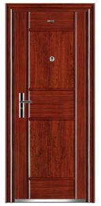 Top Quality Economic Single Steel Doors (EF-S027) pictures & photos
