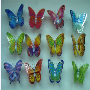 Color Changing LED Fiber Optic Butterfly for Home & Christmas Decoration
