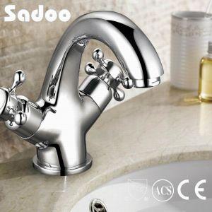 Dual Hand Wheel Brass Basin Faucet (SD-31)