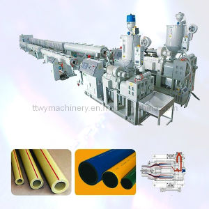 High Quality PVC Plastic Pipe Manufacturing Machine pictures & photos
