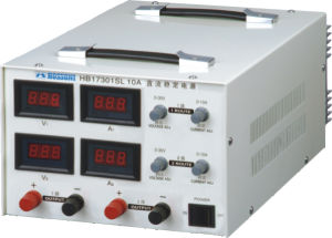 Digital Display Double Output Adjustable DC Stabvilized Power Supply pictures & photos