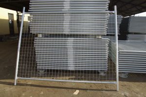 Galvanized Welded Wire Mesh Panel Temporary Fence pictures & photos
