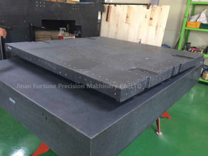 Black Granite Surface Plate with High Degree of Accuracy pictures & photos
