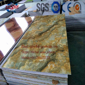 UV Coated Imitation Marble PVC Board Making Machine/Production Line pictures & photos
