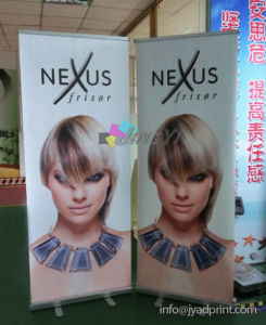 Customized Printed Your Logo Various Design Pop Up Banner For Supermarket pictures & photos
