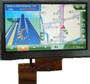 Cheap 4.3 TFT LCD Displays with Resistive Touch pictures & photos