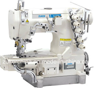 Zuker Pegasus Cylinder Flat Bed Interlock Sewing Machine (ZK600-35BB)