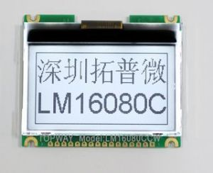 160X80 Graphic LCD Display Cog Type LCD Module (LM16086C) pictures & photos