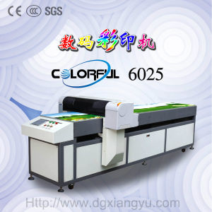Footwear Industry Printing Machine for Shoes Making (Colorful 6025) pictures & photos