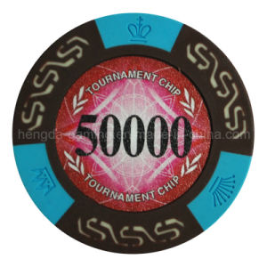 Factory Specialized in Manufacturing The Casino Dedicated Security Chip, Crown Chip, Poker Chips,
