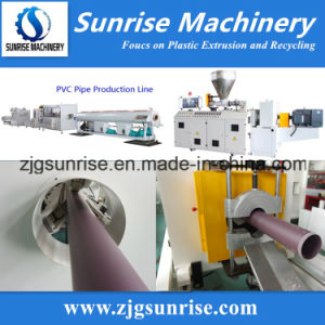 Plastic PVC Pipe Machine 20-630mm pictures & photos