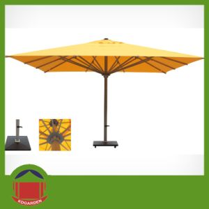 3X3m Square Market Outdoor Garden Parasol Centrol Post pictures & photos