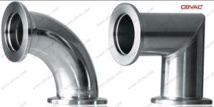 Vacuum Miter Elbow Flange Stainless Steel Elbow pictures & photos