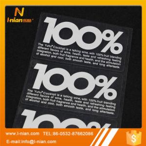 Custom Printing Transparent Clear Bottle Sticker