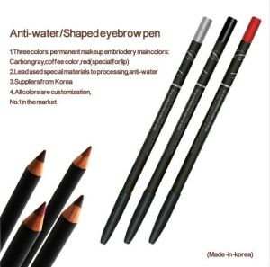 anti water eyebrow lip eyeliner makeup pencil pour permanent makeup goochie anti water. Black Bedroom Furniture Sets. Home Design Ideas