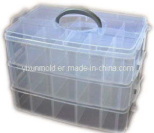 High Precision Custom Plastic Multifunctional Multilayer Storage Box Mould pictures & photos