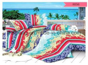 Twill Weaving 100% Polyester Velvet Bed Sheet Printed Fabric