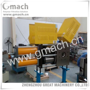Plastic Waste Film Recycling Granulator Used Doublep Iston Continuous Screen Changer pictures & photos