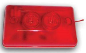 Wired Sound & Flash Alarm Siren with Red Blue Strobe (ES-8009) pictures & photos