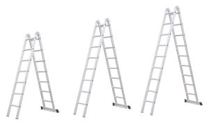 2X8 Aluminum Multipurpose Ladder with 2 Hinges Auto Parts pictures & photos
