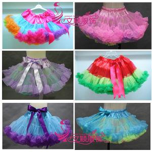 Colored Fashion Girl Pettiskirt/Baby Pettiskirt/Tutu (LC-PS-0005)