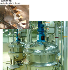Stainless Steel Vertical Jacketed Kettle pictures & photos