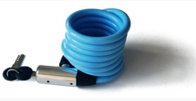 Blue Color Bike Accessories (TK8218) Bicycle Lock