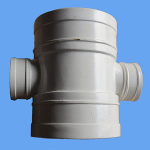 High Quality PVC Reducing Cross Drainage PVC Pipe Fittings From Professional Manufacturer pictures & photos