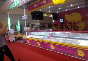 Best Selling Ussed for Restaurant Food Display Freezer pictures & photos