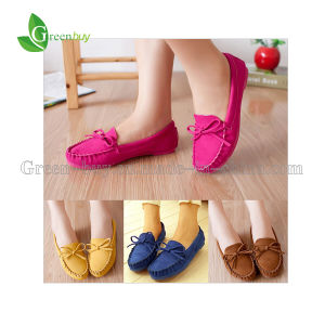 2015 Trendy Casual Flat Heel Round Toe Autumn Women′s Shoes