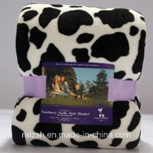 100% Polyester Quality Printed and Super Soft Mink Blanket pictures & photos