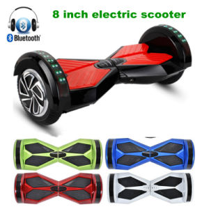 8 Inch Bluetooth&LED Flasher Two Wheel Scooter Electric Hover Board
