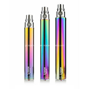 Vision Spinner 1300mAh Variable Voltage E Cigarette EGO C Twist Battery Rainbow Spinner Vision 1300mAh