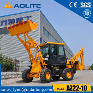 Mini Excavator China Small Wheel Loader Backhoe Loader for Sale pictures & photos