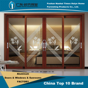 Aluminum/Aluminium Sliding Door Model Z-048 pictures & photos
