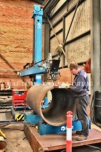 Dlh Type Auto Welding Manipulator pictures & photos