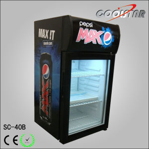 Drink Refrigerator with Assisted Fan pictures & photos