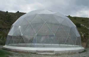Cheapest Transparent Dome Shelter/Geodesic Dome Tent