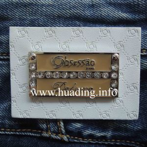 Fashion Men′s Leather Patch for Jeans (PA-05) pictures & photos