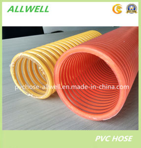 PVC Flexible Spiral Reinforced Water Suction Hose Pipe Hose pictures & photos
