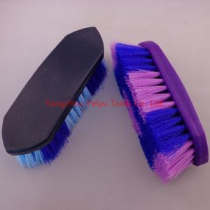 Plastic Dandy Brush 2-Colour (PY-4601)