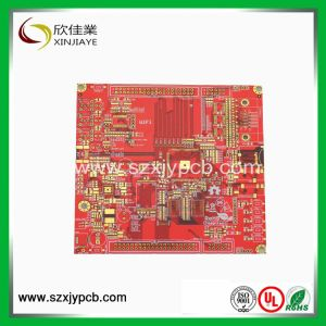Red Printed Circuit Board for Car Amplifiers pictures & photos