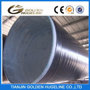 3 Layer PE Coating Spiral Welded API Steel Pipe pictures & photos