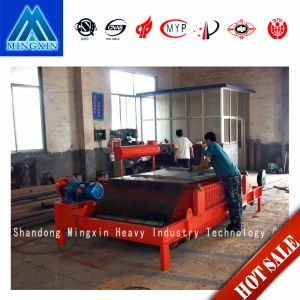 Oil Cold Self Discharging Electromagnetic Magnetic Separator for Belt Conveyor pictures & photos
