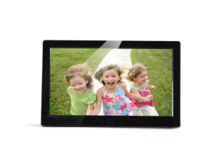 10 Inch Narrow Width Digital Photo Frame pictures & photos