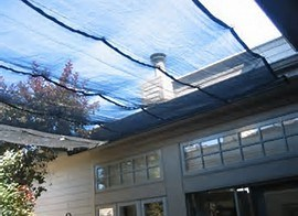 Black Mesh Tarp for Shade pictures & photos