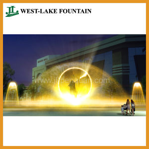 Water Screen Fountain for Movie, Video, Picture, Laser Projection pictures & photos