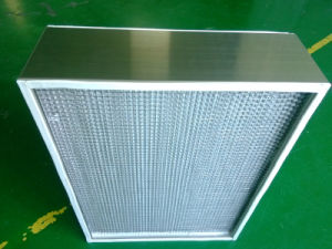 400 Degree High Temperature Panel Air Filter for Pharmaceuticals pictures & photos